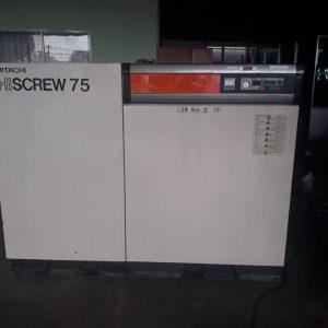 Máy nén khí trục vít cũ Hitachi Hiscrew 75kw (seri 2000)