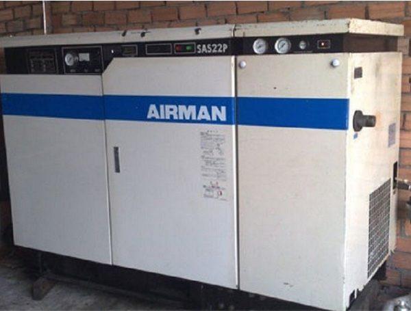 Máy nén khí trục vít cũ AIRMAN SAS22P (30hp)