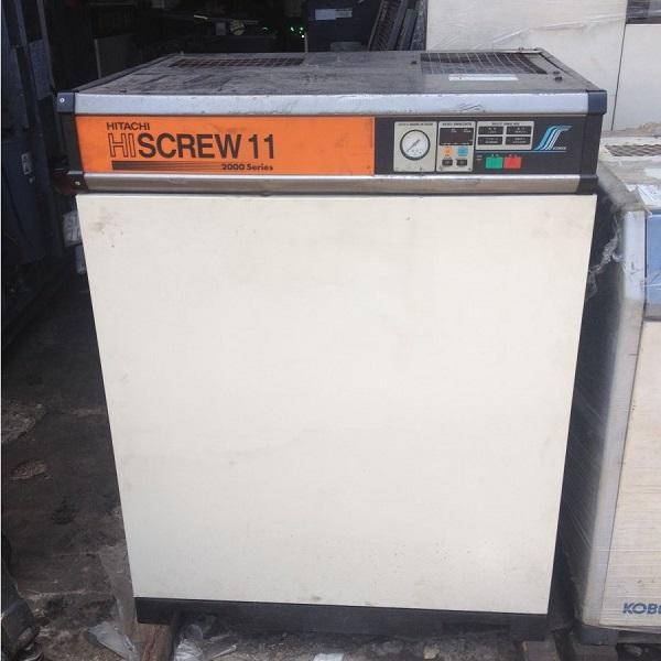 Các loai máy nén khí trục vít cũ thường có xuất xứ từ Nhật Bản hoặc Châu Âu