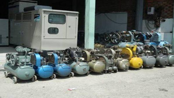 Mua bán máy nén khí cũ